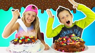 Download CAKE CHALLENGE!!! Mp3 and Videos
