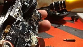 Мышка Razer DeathAdder Ремонт Колесика с Али EASY