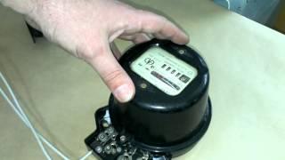 Подключение однофазного электросчётчика.(, 2014-05-09T20:21:27.000Z)