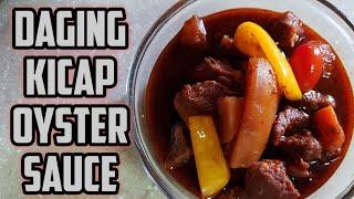 Daging Masak Kicap Oyster Sauce  Oyster Sauce Beef Ketchup  Resepi Pressure Cooker