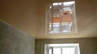 видео Неоспоримые преимущества натяжных потолков