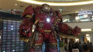 Marvel Avengers: Age Of Ultron exhibition at Malaysia 2015
