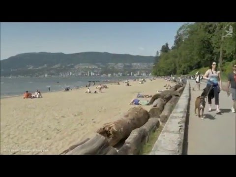 VANCOUER  canada  FAST HD WALKİNG TOUR 2016