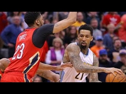 New Orleans Pelicans vs Denver Nuggets - NBA Full Game Highlights   March 25, 2017