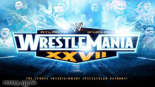 WWE Wrestlemania 27 Theme Song - Written In The Stars (HQ)