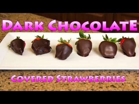 Dark Chocolate Covered Strawberry Aphrodisiac Recipe - Sexiest Valentines Dessert