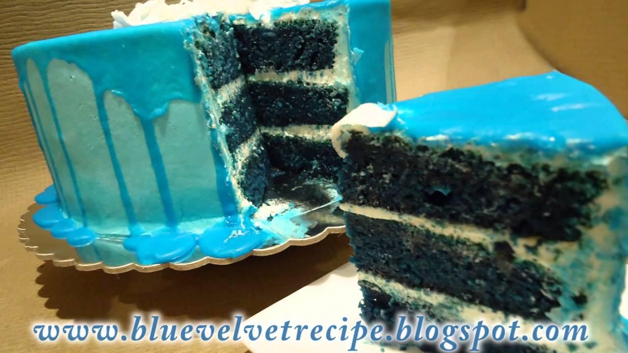 Blue Velvet Cake Recipe YouTube