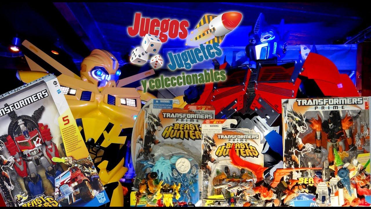 Lanzamiento Transformers Prime Beast Hunters  Juegos Juguetes y