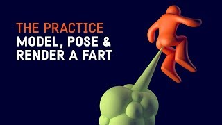 Render a fart in Cinema 4d // The Practice 107 thumbnail