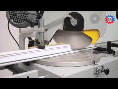 Manual Single Head Aluminium Profile Cutting Machine