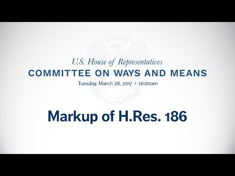 Markup of H.Res. 186