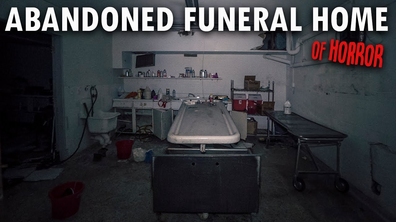 Horrifying Abandoned Funeral Home | BODIES LEFT INSIDE