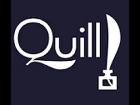 Latest QuillJS Tutorial