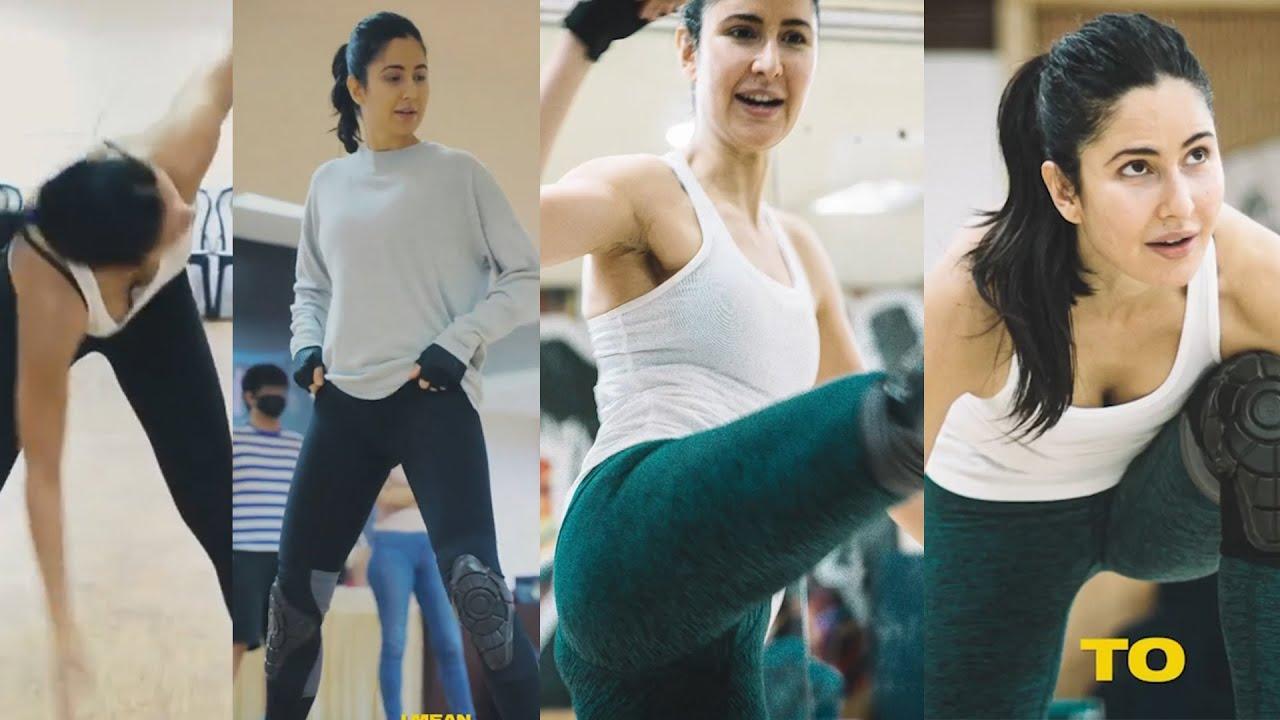 Katrina Kaif's Hard Workout | Katrina's Fitness Motivation Video | Katrina Kaif Workout Videos