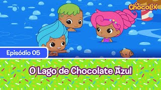O Lago de Chocolate Azul