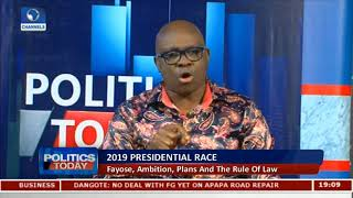EFCC Acting Against The Rule Of Law - Fayose