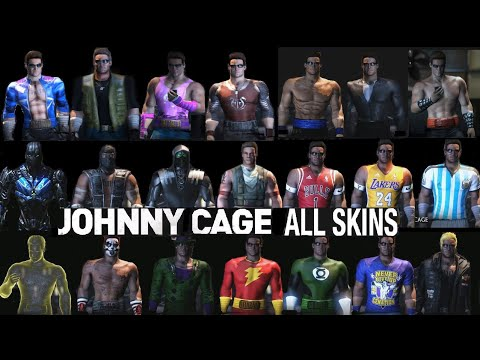 Mortal Kombat X ALL JOHNNY CAGE Costume Skin PC Mod MKX + Skins Mod Mortal Kombat 11 MK11 MKXL |