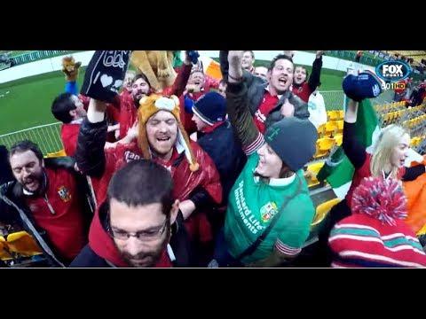 British & Irish Lions Fans Go Crazy