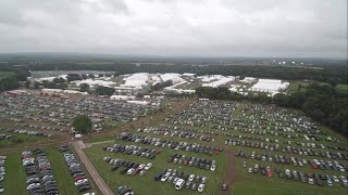 Field To A Tent City - Jalsa UK 2018