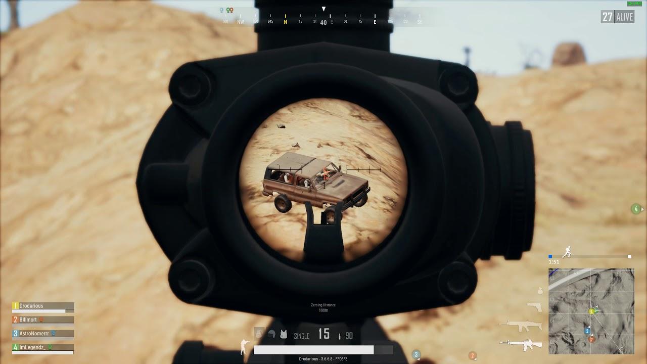 PUBG: M16 Truckin'
