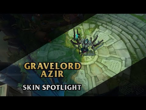 ► Gravelord Azir ◀ League of Legends ▂ Skin Spotlight
