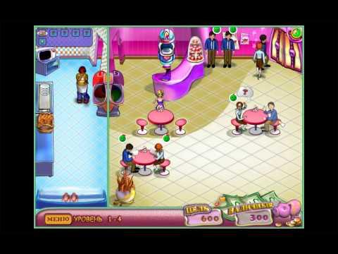 Безумный кулинар - Веселая Вкусная игра в Ресторан Обзор Детское видео Игровой мультик Lets play