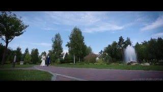 Красивый свадебный клип! Видеосъемка свадебного клипа в Межигорье.