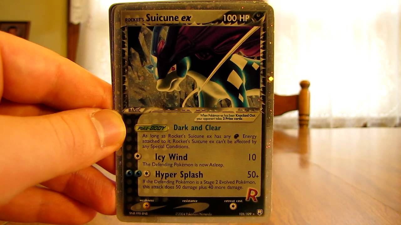 PrimetimePokemon's Top 10 EX Pokemon Card List - YouTube