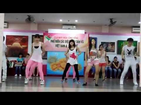 LAM dance team Dân Vũ Té nước Thái Lan 071012
