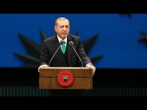 Cumhurbaşkanı Erdoğan,  Beylikdüzü'nde toplu açılış töreninde konuşuyor