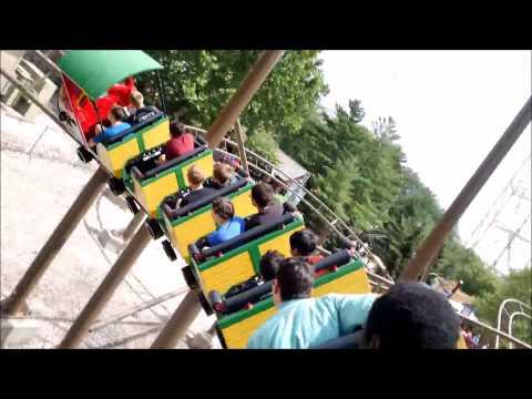 Cedar Point: Woodstock Express / On Ride POV / July 3, 2015