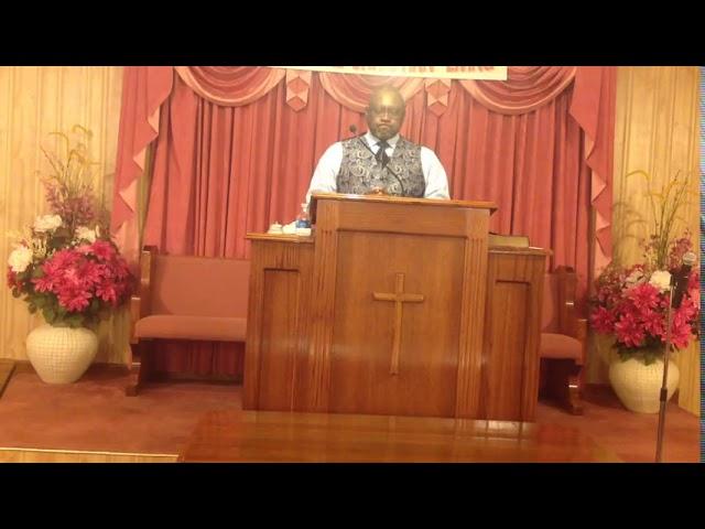 Sunday's Sermon December 20, 2020 by Bro. John T. Somerville
