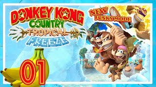 Funky Kong am Start  |  Donkey Kong Country: Tropical Freeze #01  [DE]/[1440p60]