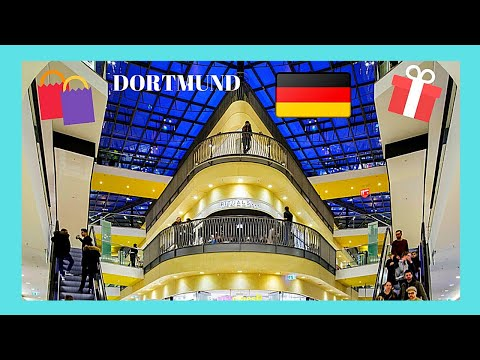 DORTMUND, the beautiful THIER-GALERIE SHOPPING MALL, Germany