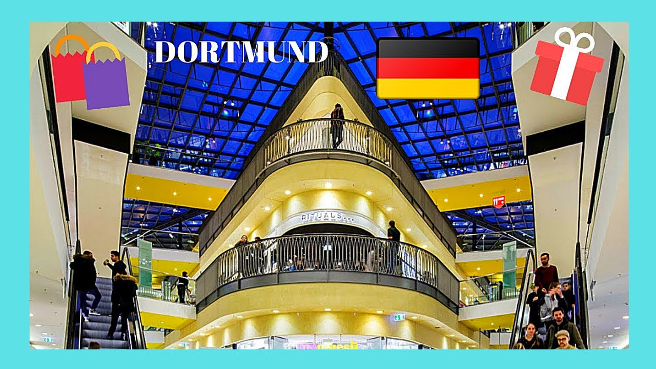 Dortmund The Beautiful Thier Galerie Shopping Mall Germany Youtube