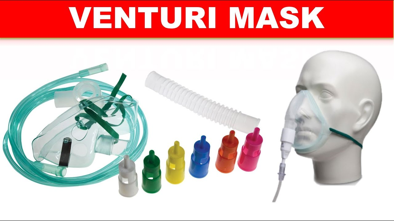 how to use venturi mask