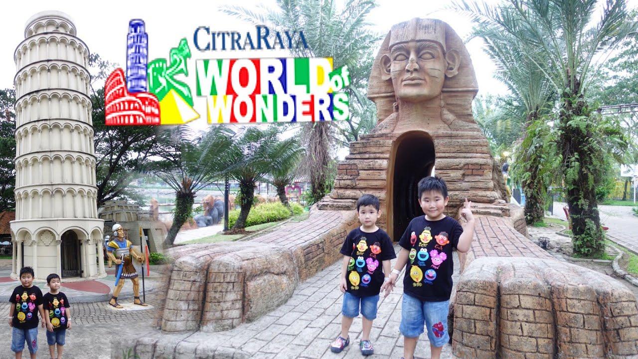 Citra Raya WORLD OF WONDERS Theme Park (Part 10)  Dufannya Anak Tangerang  Banyak Wahana Seru
