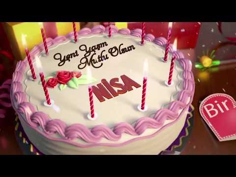 İyi ki doğdun NİSA - İsme Özel Doğum Günü Şarkısı