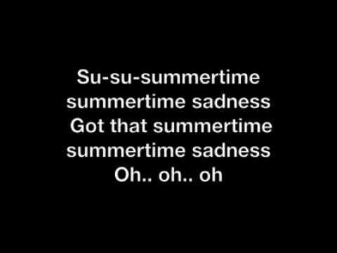 Summertime Sadness REMIX Karaoke  W/ LYRICS