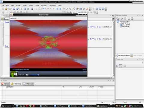 como hacer un reproductor de musica en Visual Basic