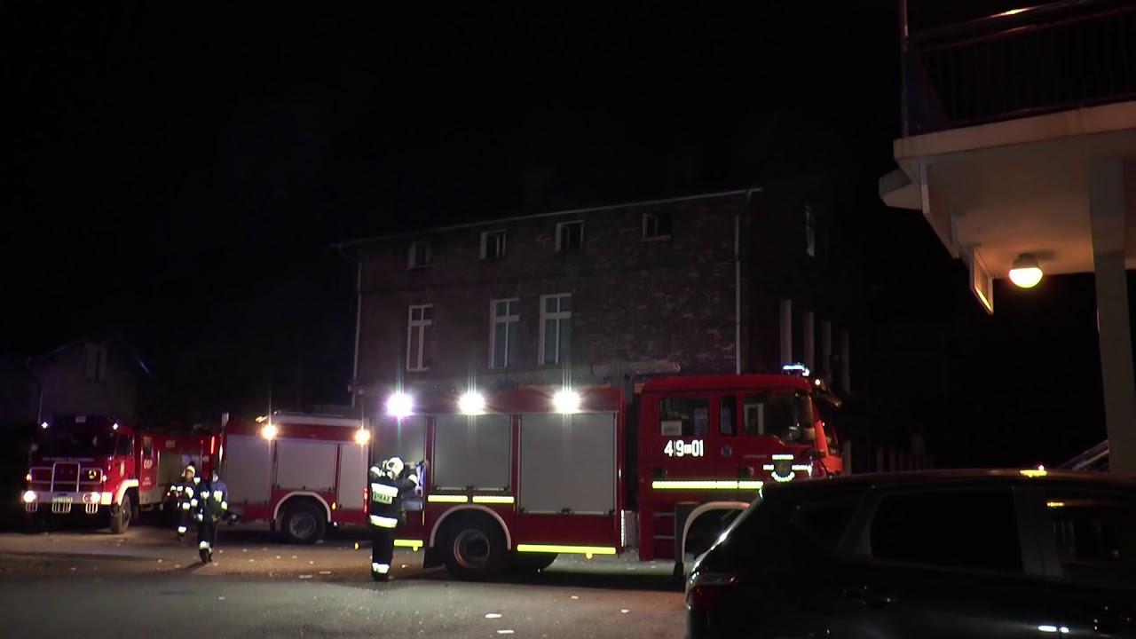 Krzyż Wielkopolski: śmiertelna ofiara pożaru kamienicy