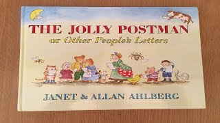 THE JOLLY POSTMAN or Other People's Letters by Janet & Allan Ahlberg - Children's Stories