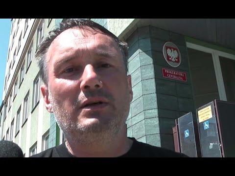 Głodówka dr Zbigniewa Kękusia pod Prokuraturą Generalną, cz  1