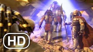 ХИЩНИК отправлен на чужую планету, чтобы сражаться в сцене 4K ULTRA HD - Хищник в бетонных джунглях