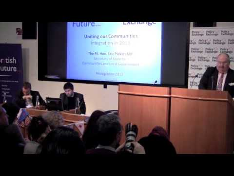 Eric Pickles - Uniting Our Communities: Integration in 2013 | 15.03.2013