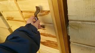 видео Наружные двери для бани и сауны