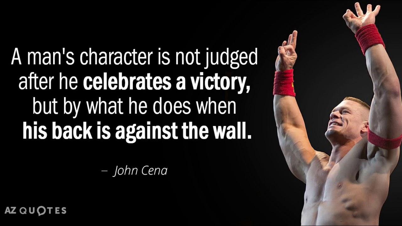 John Cena Motivational Quote Youtube