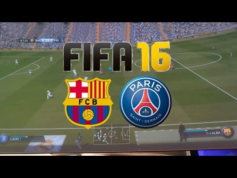 Fifa 16 Full Gameplay | FC Barcelona Vs PSG | Xbox One (Gamescom)