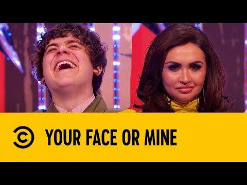 Frankie Cocozza's Awkward Entrance | Your Face Or Mine