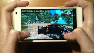 Sony Xperia Z5 Compact - GTA Liberty City Stories - PPSSPP v1.1.1 - Gameplay / Test